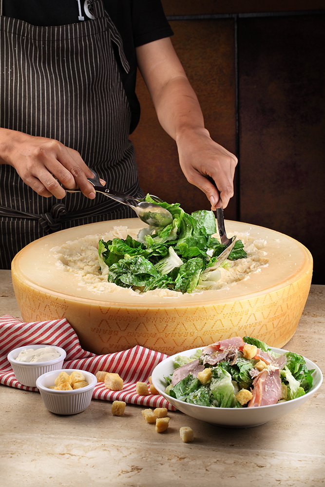Cheese-Wheel---Caesar-Salad