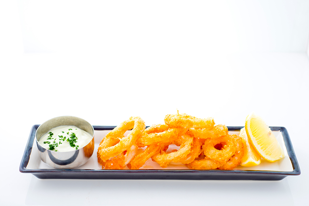 Fried-Calamari-with-Wasabi-Mayonnaise